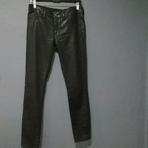 ELIE TAHARI Black Denim Audrey leggings size 29